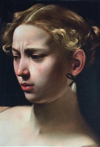 Caravaggio Favellatrice