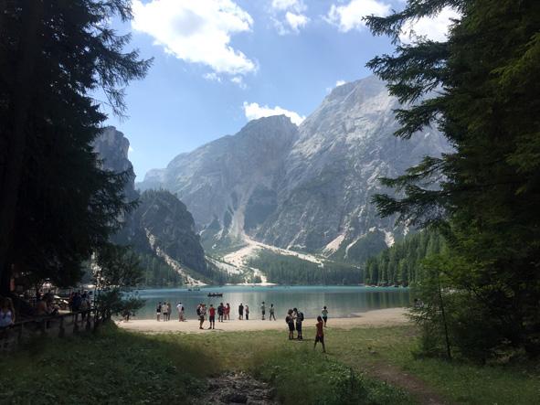 Braies_favellatrice Leo núi ở Ý