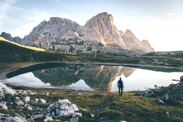 Tre Cime di Lavaredo Leo núi ở Ý