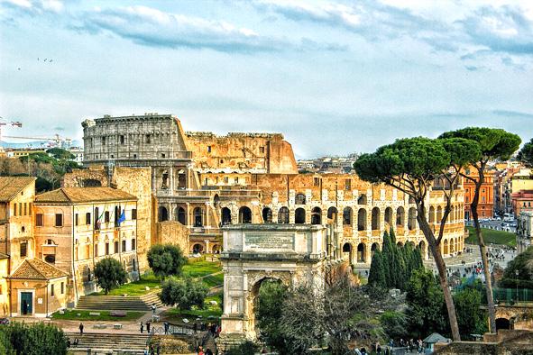 roma rome 10 thành phố ý