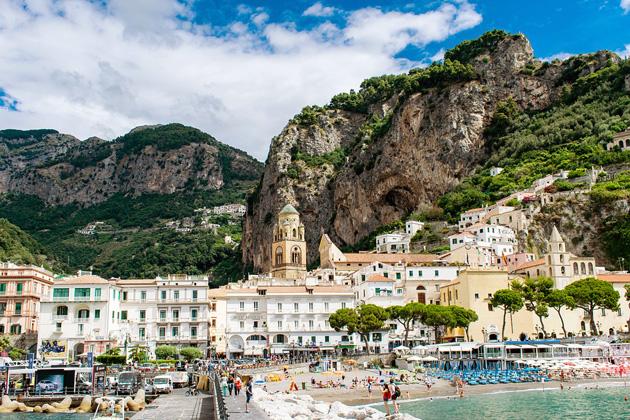 54 di sản unesco ở Ý - Favellatrice Amalfi