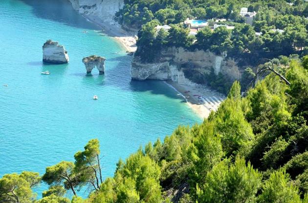 Zagare Favellatrice Biển Đông nước Ý