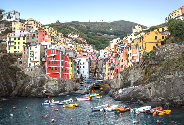 55 di sản unesco ở Ý - Favellatrice Cinque Terre