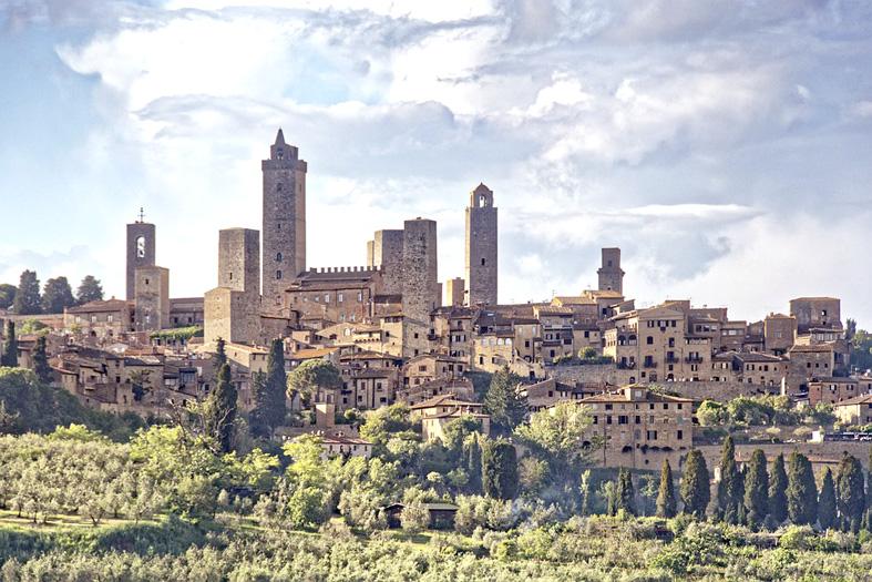 San Gimignano - Favellatrice