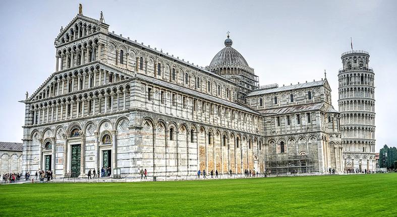 Pisa - 54 di sản Unesco ở Ý Favellatrice