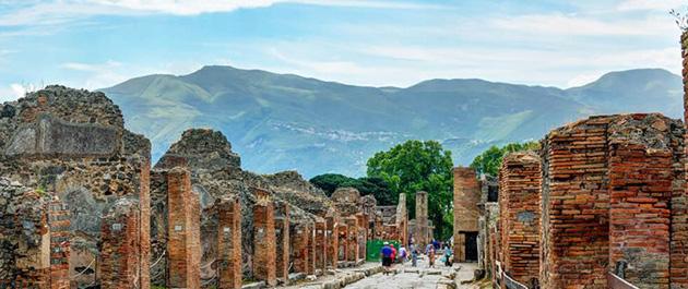 54 di sản unesco ở Ý - Favellatrice Pompei