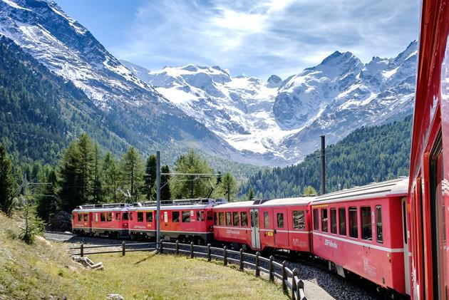 Unesco Favellatrice Bernina Express Du lịch Ý lần đầu, du lịch Ý tự túc