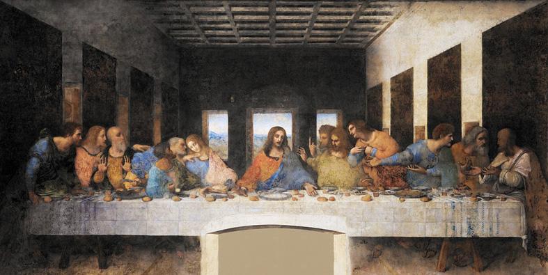 Cenacolo Ultima Cena The Last supper- 54 di sản Unesco ở Ý Favellatrice