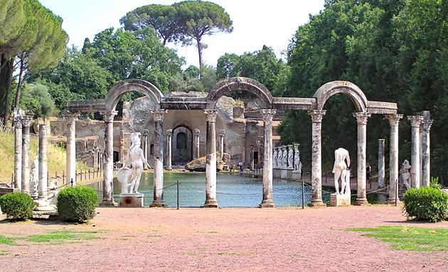 Favellatrice Villa adriana