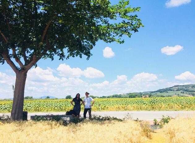 Đường lên Assisi