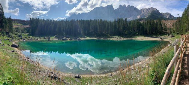 Lago di Carezza - Hồ ở Ý đẹp nhất