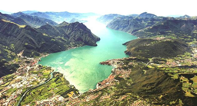 Lago d'Iseo Hồ đẹp nhất Ý