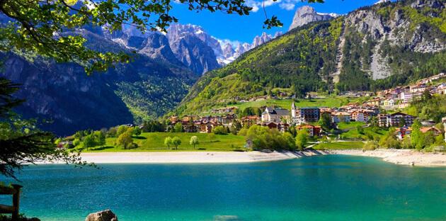 Lago di Molveno 20 hồ ở Ý đẹp nhất