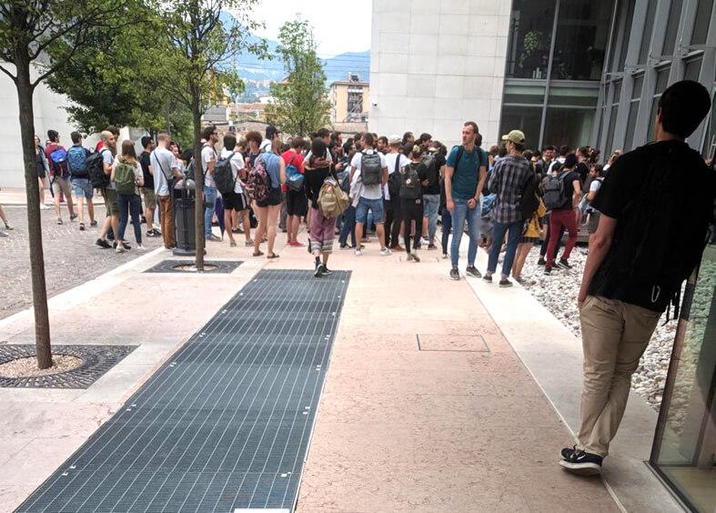 Đại học Trento mùa thi