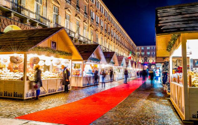 Chợ Giáng Sinh ở Ý (Torino)
