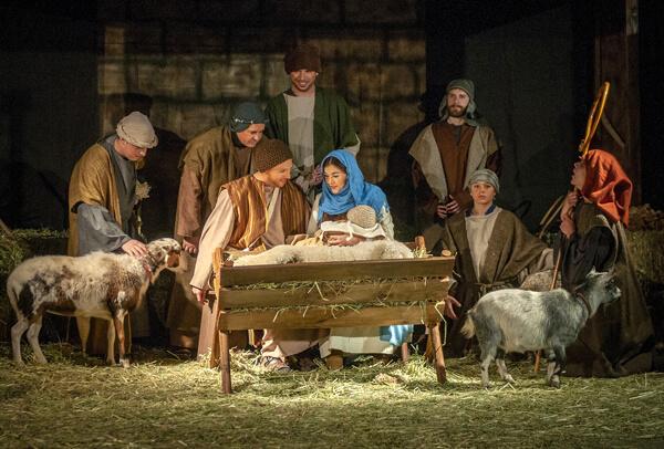 Hoạt cảnh Giêsu ra đời Presepe Vivente