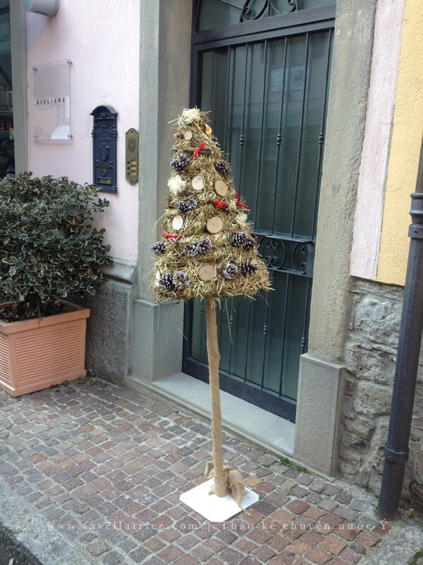 Cây Giáng Sinh miền núi Bắc Ý